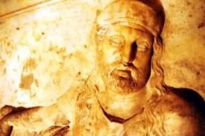 Uzunyuva Lahidi cephesindeki Karia'lı kral kabartması.