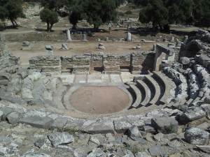 The Theatre, Iassos, Muğla, Türkiye.